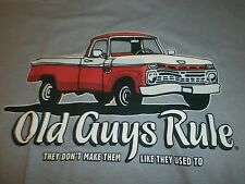 "OLD GUYS RULE "" THEY DON'T MAKE THEM LIKE THEY USE TO ""TRUCK S/S T-SHIRT SIZE XL"
