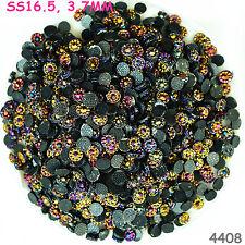 4000pcs SS16.5 Rose Violet AB Hot-fix Crystal Acryl Rhinestone  Beads flatback