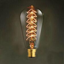 Retro Style Edison Bulb B22 Bayonet BC Vintage Filament Christmas Tree Light 40W