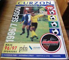 Curzon Ashton v Netherfield. 2nd November 1996. UniBond League