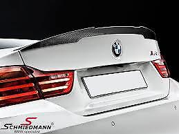 Tailgate Spoiler Carbon Fibre Genuine BMW M4 Series M Performance 51192350722