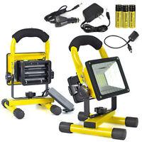 Portable Battery 24LED Work Light Cool White Floodlight Rechargeable Spotlight