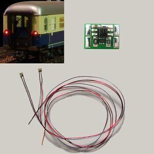S735 LED Zugschlußbeleuchtung Schlußbeleuchtung Waggons mit SMD 0402 LEDs rot