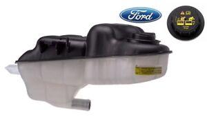 OEM FORD Super Duty 6.0L Diesel Engine Radiator Coolant Fluid Reservoir WITH Cap