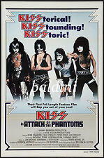 KISS - HIGH QUALITY EARLY VINTAGE 1979 CONCERT POSTER - LOOKS GREAT FRAMED