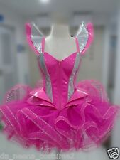 DaNeeNa L044Z GAGA Beyonce Futurelistic TUTU Corset Leather Dress  XS-XL