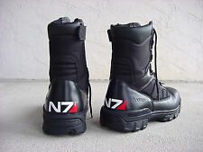 """Mass Effect N7 Decals - 5/8"""" X 2"""" Two Vinyl Decals - Customize Your Boots"""