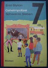 Enid Blyton  Geheimpolizei Schwarze Sieben  Blüchert Verlag