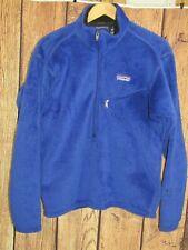 Patagonia Regulator 1/2 Zip Pullover Fleece Jacket 2002  S Blue USA Polartec