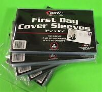 500 FIRST DAY COVER POLY SLEEVES, FOR #6 COVERS, ARCHIVAL SAFE, GREAT PRICE!