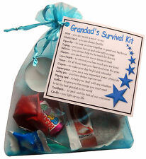 Grandad's Survival Kit Gift - Great present for Birthday or Christmas