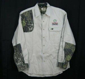 Mossy Oak Sportswear Khaki Shirt Sz XL Dead Eye Team Tester Tamaulipas Mexico