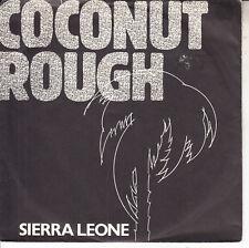 "COCONUT ROUGH  Sierra Leone PICTURE SLEEVE 7"" 45 rpm record NEW + juke box strip"