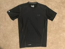 Black Under Armour Fitted Heat Gear Shirt, Size Men's Small (Sz S)