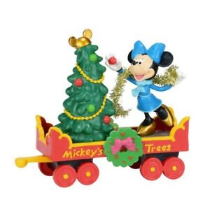 RARE Department 56 Disney Village Mickeys Holiday Tree Car 4038632 NIB