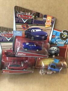 DISNEY CARS DIECAST Race Fan Bundle - Kit Revster, Christina - See Description