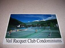 1980s VAIL RACQUET CLUB CONDOMINIUMS VAIL COLORADO VTG POSTCARD