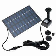Solar Power Water Pump for Garden Pond Fountain  Submersible waterfall sump