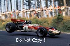 Graham Hill Gold Leaf Team Lotus 49B German Grand Prix 1968 Photograph 1