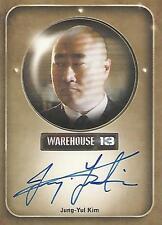 "Warehouse 13 Season 2 - Jung-Yul Kim ""Mrs Frederic's Bodyguard"" Autograph Card"