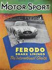 MOTOR SPORT FEB 1953 REDEX BRANDED PETROL MONTE CARLO MY YEAR'S MOTORING