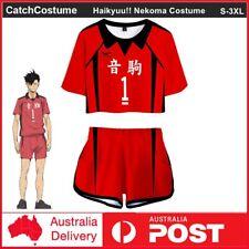 Haikyuu!! Nekoma High School Kuroo Tetsurou Volleyball Jersey Cosplay Costume