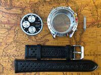 Uhrenkit Calibre für Chronograph ETA Valjoux 7750 SWISS MADE Werk - Uhrengehäuse