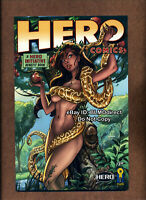 2009 Hero Comics #1 NM- Sinful Eve Variant J Scott Campbell IDW Hero Initiative