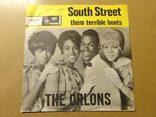 """SINGLE 7"""" / THE ORLONS: SOUTH STREET, THEM TERRIBLE BOOTS (CAMEO PARKWAY)"""