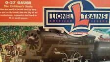 LIONEL O-27 SCALE NORFOLK & WESTERN STEAM LOCOMOTIVE TRAIN SET 6-21917 - TESTED!