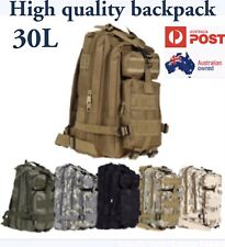 30L Outdoor Military High Quality Backpacks Camouflage Hiking Camping Bag