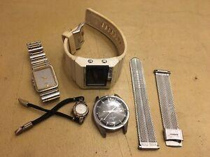 Watch Lot For Parts Repair Seiko Citizen Diesel Vintage