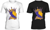 Lebron James Los Angeles Lakers Jersey shirt #23 S-2XL LABron Laker Tee