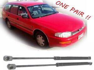 2 x New TAILGATE Gas Struts Toyota Camry Vienta Holden Apollo Wagon 1993 to 1997