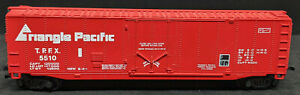 Bachmann 51'  BoxCar RED, Triangle PACIFIC. T.P.F.X. #5510 VINTAGE HO SCALE