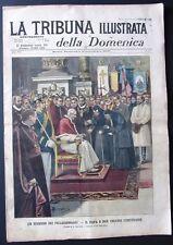 1900 VATICANO PAPA LEONE XIII REGINA ELENA CAPODIMONTE Roma demolizione Comotto