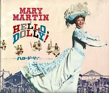 "Mary Martin ""HELLO DOLLY"" Jerry Herman / Gower Champion 1965 Tokyo Japan Program"