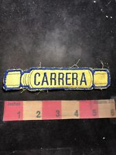 Vintage CARRERA Brand Advertising Patch 91NT