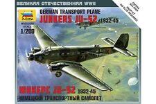 ZVEZDA 6139 1/200 German transport plane Junkers Ju 52 1932-1945