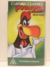 FOGHORN LEGHORN AND HIS FRIENDS ~ CARTOON CLASSICS ~ RARE VHS VIDEO