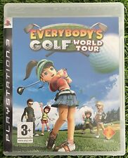 Everybody's Golf: World Tour Sony Playstation 3 Spiel 2008 VGC kein Handbuch Free p&p