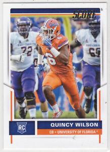 2017 Score Football Quincy Wilson RC #410 ***Florida***