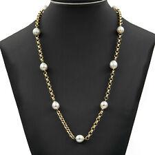 Collar Mujer oro 18k con autenticas perlas Australianas de los mares del sur