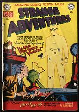 VINTAGE Strange Adventures #5 GOLDEN AGE DC Comic Book 1951 Sci-Fi Invisible Man