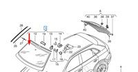 Audi Q3 8U Parabrezza Anteriore 8U0845099ANVB Nuovo Originale