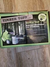 Timber Tuff Cs-Bmm Benchtop Electric Chain Saw Chain Sharpener