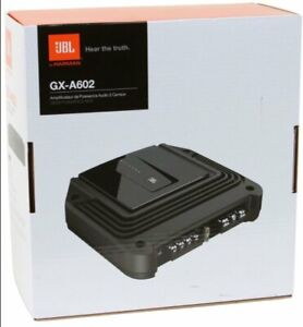 JBL GX-A602 280 Watt GX Series 2-Channel 2 ohm Stable Amplifier NEW