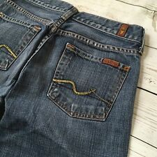 7 FOR ALL MANKIND ~ Women's Med Wash Bootcut Jeans  Size 26 7FAMK