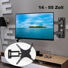 TV Wandhalterung Für 14-55 Zoll LCD LED Fernseher Wandhalter neigbar schwenkbar