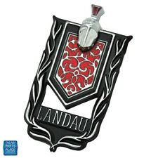 """1973-1977 Monte Carlo Sail Panel Shield """"Landau"""" Emblem Stick On EA GM 20079934"""
